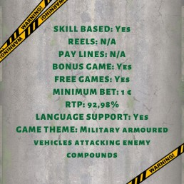 Spoils of war info online gaming skill based