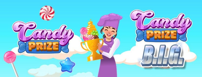 Candy prize and candy prize BIG new launch