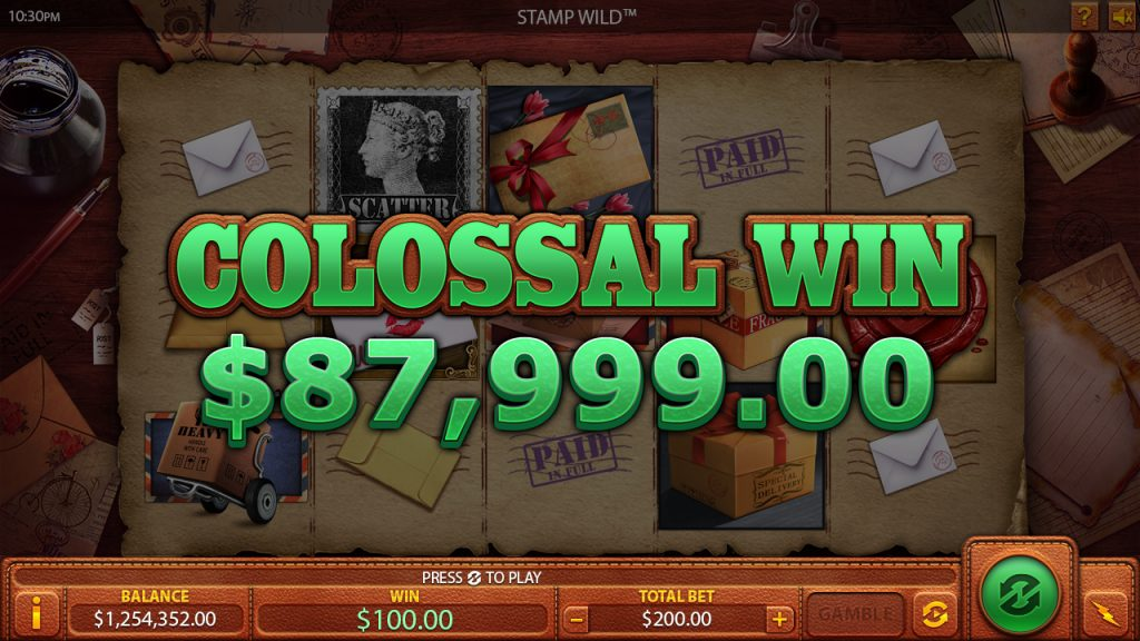 Stamp wild Colossal-Win online gaming