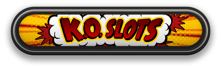 Knock out slots logo green jade games