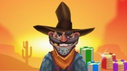 Play western rush cowboy in the wild west