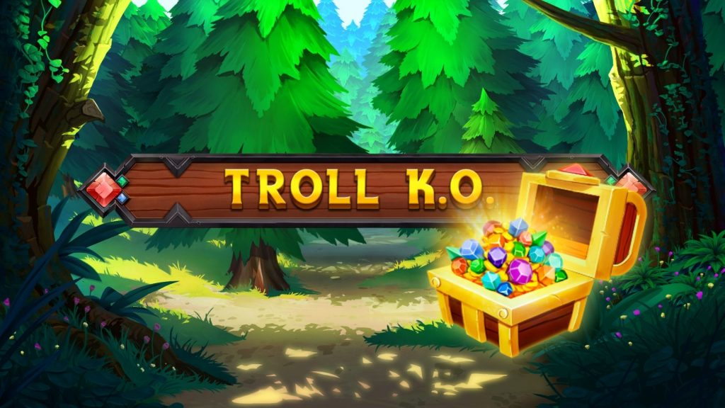 Troll knock out slot green jade games